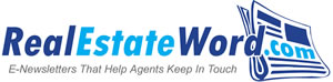 real estate word e-newsletter service